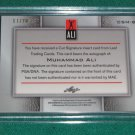 MUHAMMAD ALI - 2011 Leaf Metal CUT SIGNATURE Autograph & INSCRIBED #17 of 20