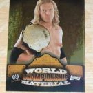 EDGE- 2010 Topps WWE World Championship #W17