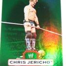 CHRIS JERICHO - 2010 Topps WWE Platinum Green Refractor #66 - #034 of 499 made
