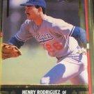 1991 Leaf Gold Leaf Rookies Henry Rodriguez