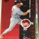 Mark McGwire 1999 Upper Deck Challengers for 70 Mark on History #M14