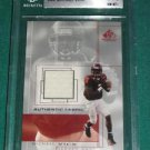 2001 SP Game Used Authentic Fabric Michael Vick Jersey Rookie Card BGS 8.5