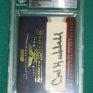 CARL HUBBELL - 2009 Razor Sports Icons Update Cut Signature Autograph #8 of 40