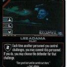 Battlestar Galactica CCG Apollo / Lee Adama - Pilot - BSG-01/12 LE FOIL