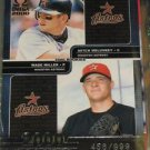 2000 Pacific Omega Mitch Meluskey & Wade Miller Rookie Card #456 of 999 made