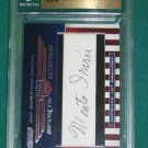MONTE IRVIN - 2010 Razor Sports Icons Cut Signature Autograph #36 of 39 made