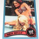 BRIE BELLA - 2011 Topps WWE Blue #41 - #0224 of 2011 made