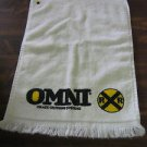 OMNI Grade Crossing Systems Rail Road - Promotional / Salemen Sample Towel