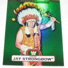 JAY STRONGBOW - 2010 Topps WWE Platinum Green Refractor #117 - #212 of 499 made