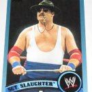 SGT. SLAUGHTER - 2011 Topps WWE Blue #103 - #1392 of 2011 made