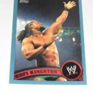 KOFI KINGSTON - 2011 Topps WWE Blue #35 - #1914 of 2011 made