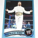 TED DIBIASE - 2011 Topps WWE Blue #91 - #0945 of 2011 made