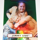 JIMMY USO - 2010 Topps WWE Platinum Green Refractor #31 - #223 of 499 made
