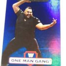 ONE MAN GANG - 2010 Topps WWE Platinum Blue Refractor #58 - #192 of 199 made