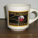 Vintage North Carolina Highway Patrol Coffee Mug Cup - NC State Police