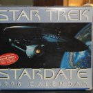Star Trek Stardate Desk Photo Calendar 1998 NEW, Spock, Kirk