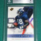 2000 SPx Mike Anderson Rookie Card BGS 9 - #0340 of 1350 made (with 1- 9.5)