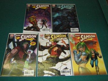 Doc Samson (2006 - 2nd Series) #1-5 - Complete Full Run Set - Marvel Comics