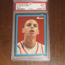 2009-10 Bowman 48 Blue Stephen Curry Rookie Card #/1948 - PSA 7.5 *POP 16*