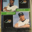 2000 Pacific Omega Kenny Kelly & Damin Rolls Rookie Card #869 of 999 made