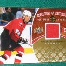 2010 Upper Deck World of Sports All-Sport Apparel Jersey Wayne Gretzky