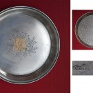 Solid silver plate of 1953 Kiev URSS origin