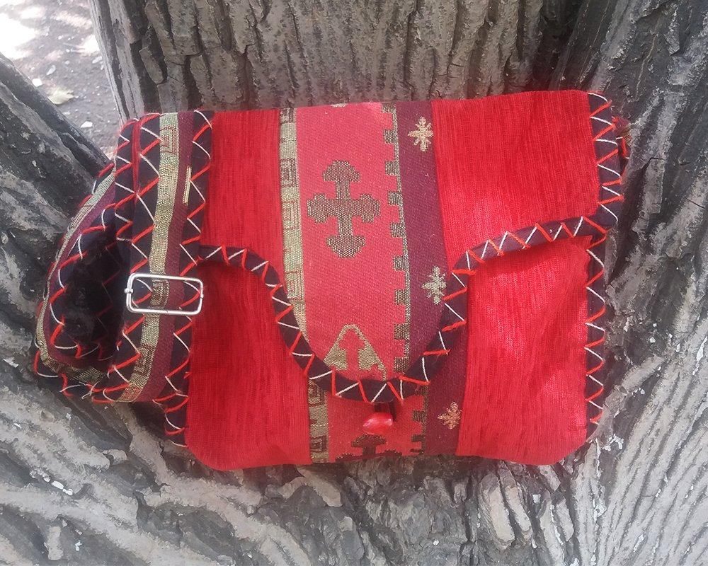 Original Ethnic Handbag with Cross