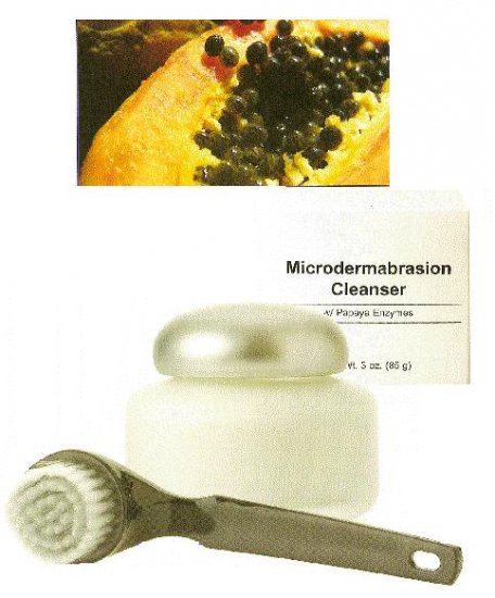 Microdermabrasion Cleanser with Papaya Enzymes