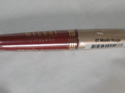 MILANI Lip Gloss #07 MOULIN ROUGE Matte TRUE RICH RED Lipgloss NEW & SEALED