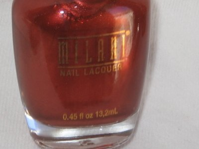 MILANI Nail Polish  FOXY LADY a Pearlized Metallic Gorgeous Brown Bronze shade