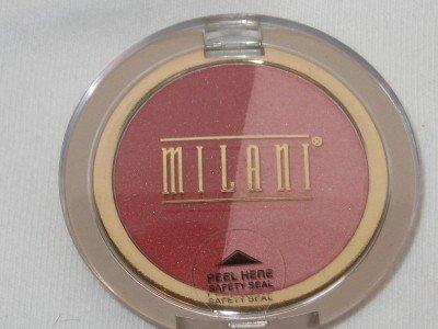 MILANI Double Impact Powder BLUSH Compact #04 CHERRIES ON TOP Blush NEW SEALED