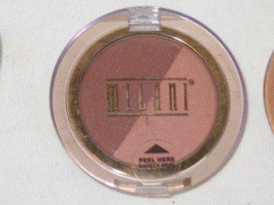MILANI Double Impact Powder BLUSH Compact #03 COFFEE N CREAM Blush NEW SEALED