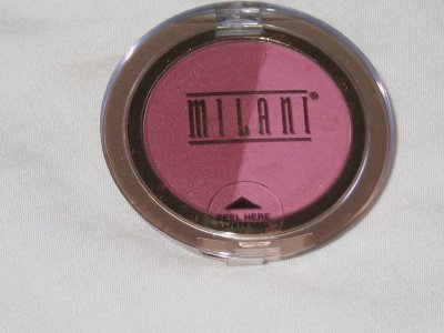 MILANI Double Impact Powder BLUSH Compact #02 WINE and ROSES Blush NEW SEALED
