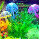 Artificial 3D Jellyfish For Fish Aquarium Decoration! Look real!