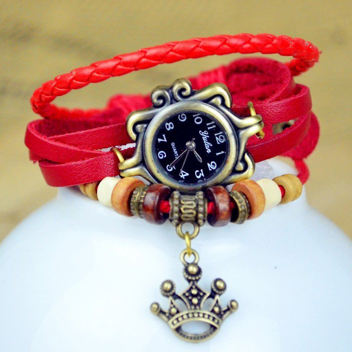 New Fashion Quartz Watch For Girls, Women - Flower Pendant Bracelet Watch!