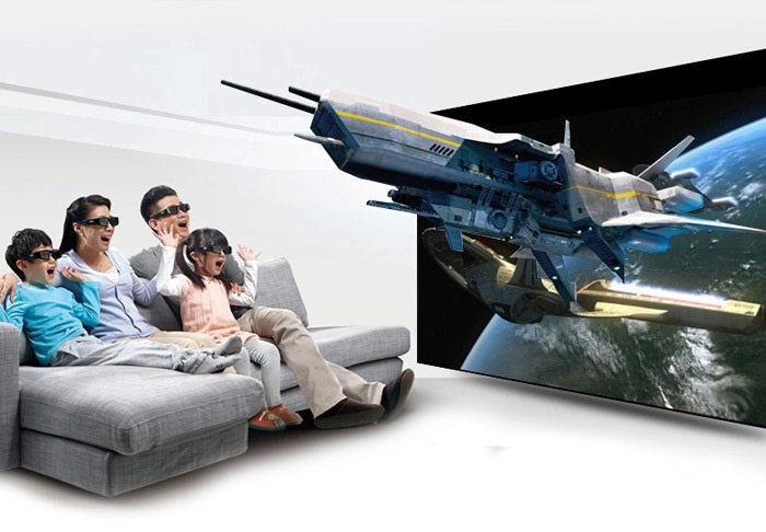 Xiaomi 3D Active Shutter Glasses USB Rechargeable for Watching 3D Movies / TV