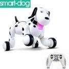 RC Intelligent Simulation Robot Smart Dog! Black