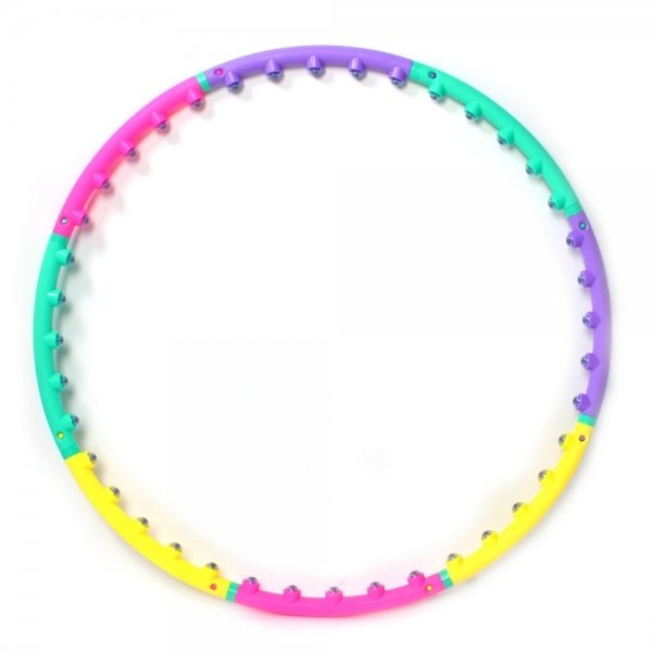 New Magnetic Therapy Massage Hula Hoop - How to lose weight fast and fun way!