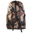 Oxford Outdoor Backpack Sport Travel Bag  -  Brown Marpat Dessert Camaflouge