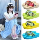 Summer Bohemia Flower Flip Flops Platform Wedges Women Flip Slippers Beach Sandals Shoes