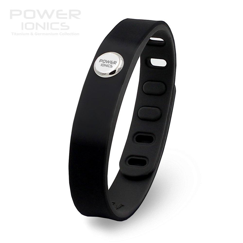 Power Ionics 3000ions Sports Waterproof Titanium Bracelet Band Improve Sleeping