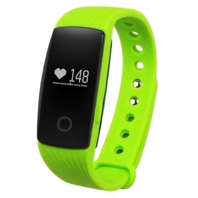 ID107HRM Smart Bracelet Fitness Tracker Heart Rate Monitor Pedometer Sleep Calorie Remote Cam