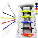 Fun Colorful Silicone Elastic Flexible Lazy Shoelaces