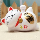 GOOD FORTUNE MANEKI NEKO CAT! SOLAR POWERED! NO BATTERIES!