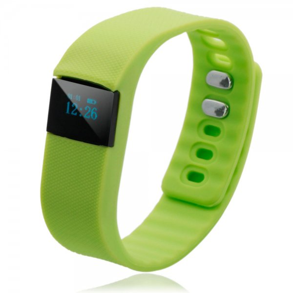 Bluetooth 4.0 Smart Watch Fitness Activity Tracker Pedometer Calorie Event Reminder - LIME GREEN