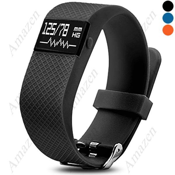 TW68 Smart Fitness Health Tracker Blood Pressure Heart Rate Monitor Sports Bracelet Bluetooth