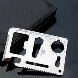 Tactical Mini Knife Card Life-saving Multifunctional Tool Card Outdoor Survival