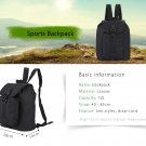 10L Canvas Sports Backpack Sling Bag
