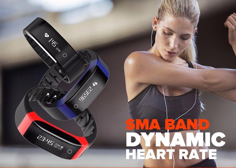 SMA SMARTBAND Dynamic Heart Rate Monitoring Smart Wristband