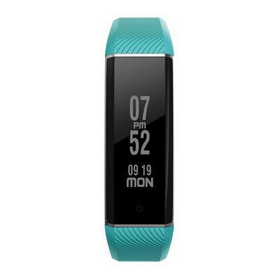 Best Seller! Latest Zeblaze BTH 4.0 Heart Rate Monitor Smart Wristband Aluminum Case -GREEN